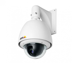 Outdoor Point-Tilt-Zoom (PTZ) camera